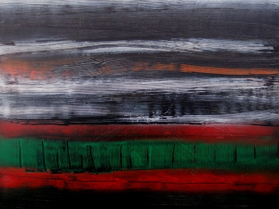 Arbre de vie 3 :Image réalisé en 2016 à partir de technique mixte 80x100 cm