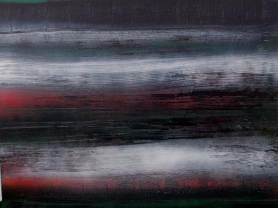 Arbre de vie 4 : réalisé en 2016 à partir de technique mixte 80x100 cm