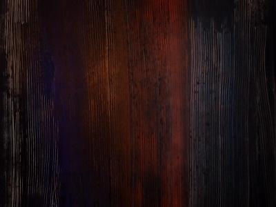 Reflet terrestre 2 : réalisé à partir de technique mixte 80 x 120 cm