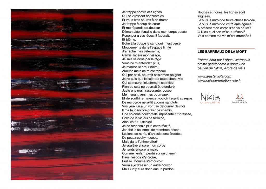 Poème Lobna et toile Nikita