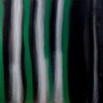 Image abstraite noir et vert sur l arbre de vie